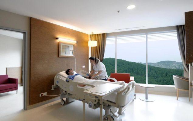 Clinique chambre de patient