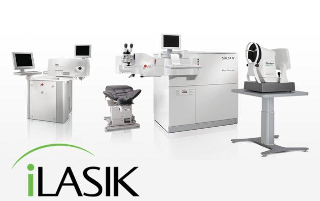 Opération des yeux iLasik